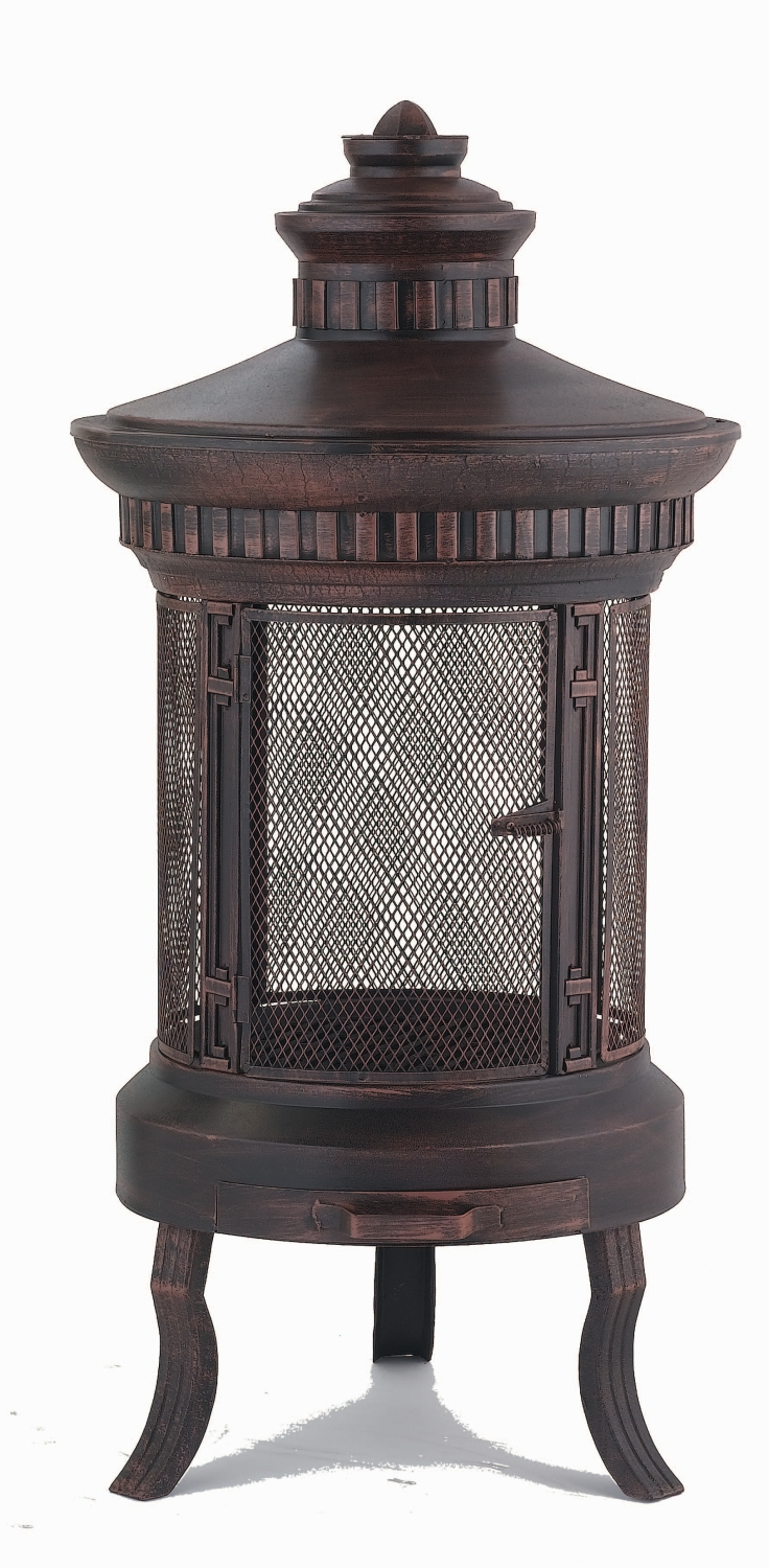 Lifestyle Prestige Fire Pit Patio Heater With Stand And