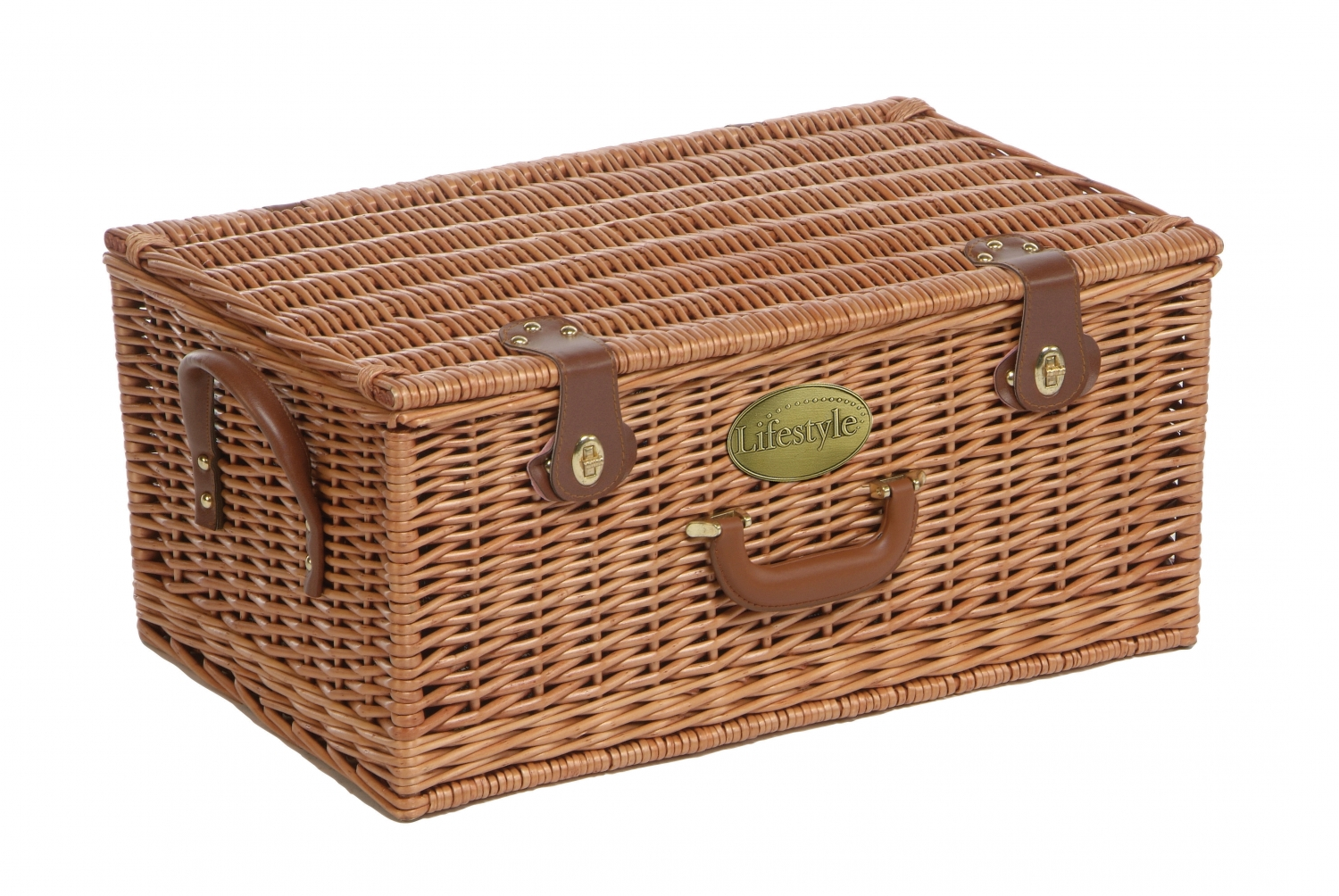 Willow Piece Picnic Hamper This Willow Piece Picnic Hamper Will