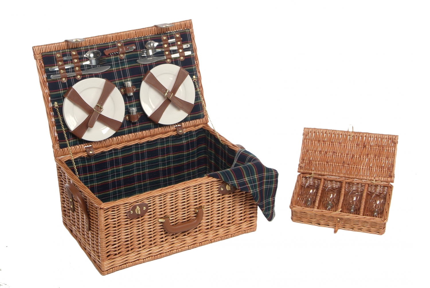 Accessories Picnic Hampers Finsbury  Person Willow Picnic Basket