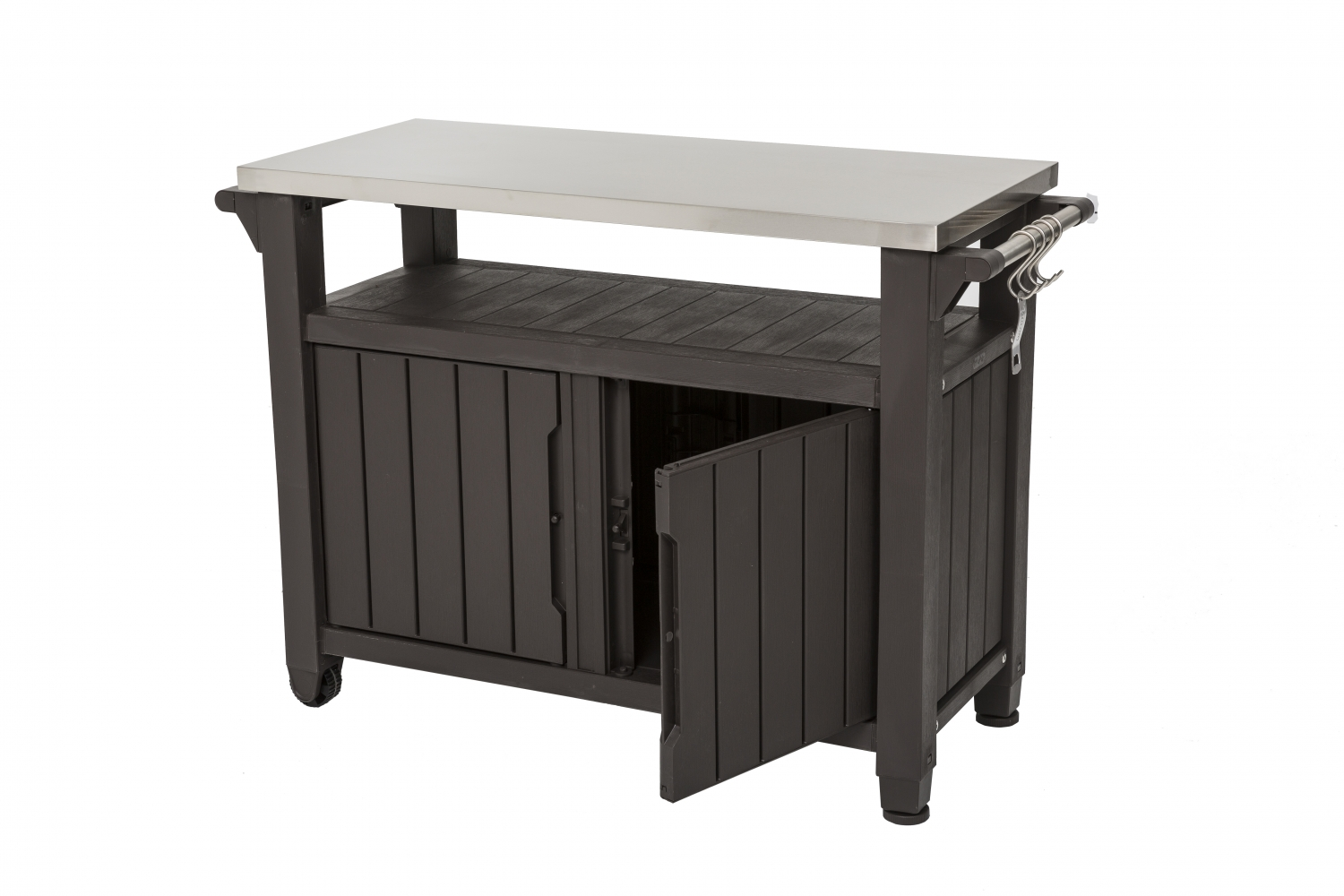 Bbq Tables With Stainless Steel Top Single Amp Double