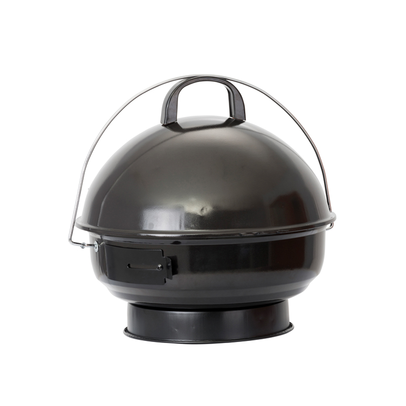 Lifestyle Tino Tabletop Compact Charcoal Bbq With Stand