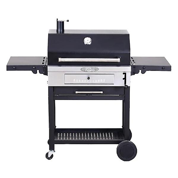 Bon Fire Stainless Steel Charcoal Grill Bbq Free Cover