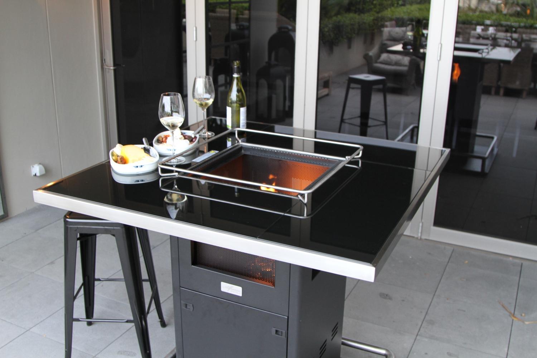 Gas Patio Heater Outdoor Bar Table Patio Life