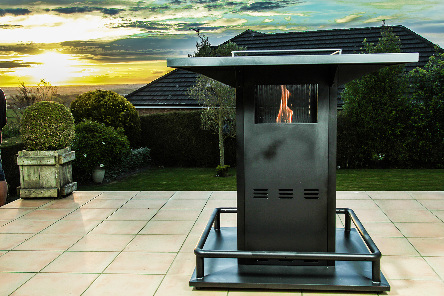 Gas Patio Heater Outdoor Bar Table Patio Life