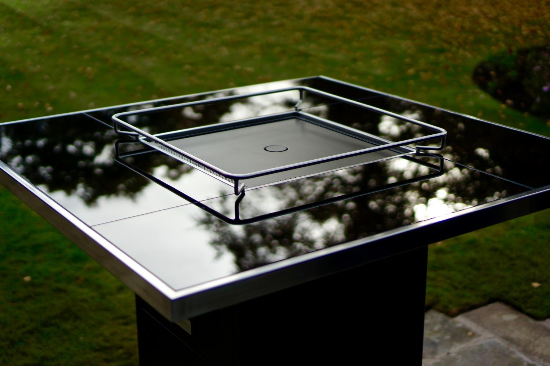 Patio Life Gas Patio Heater Outdoor Bar Table