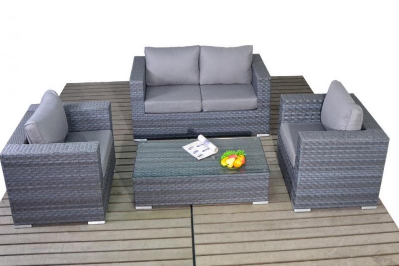 Super Platinum Rattan Grey Small Sofa Set Coffee Table Dailytribune Chair Design For Home Dailytribuneorg