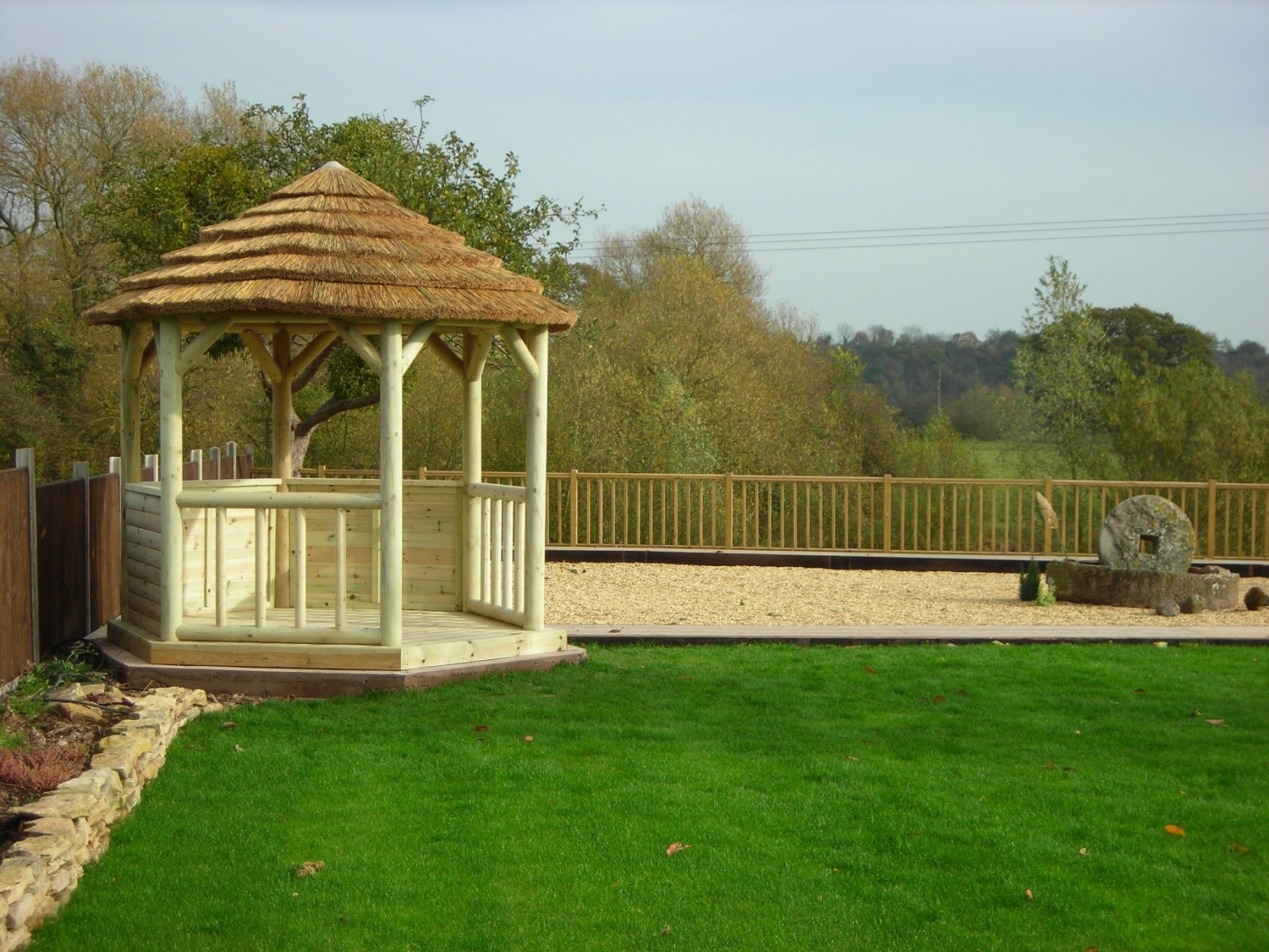 Patio Life Classic Gazebo 3 0m Including Deck Base With