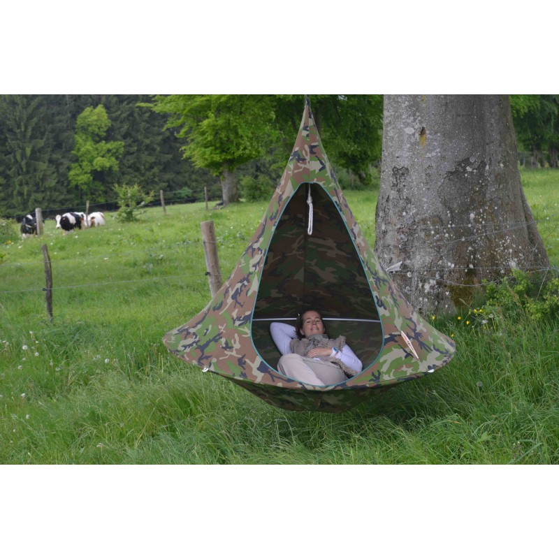 Cacoon Hanging Tent Double Size In 10 Colours Patio Life