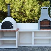 Napoli Outdoor Kitchen Bbq And Wood Fired Pizza Oven