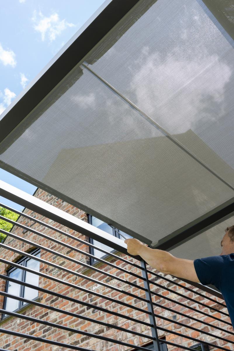 Norfolk Leisure 2 8 X 2 8m Sliding Roof Pergola Patio Life