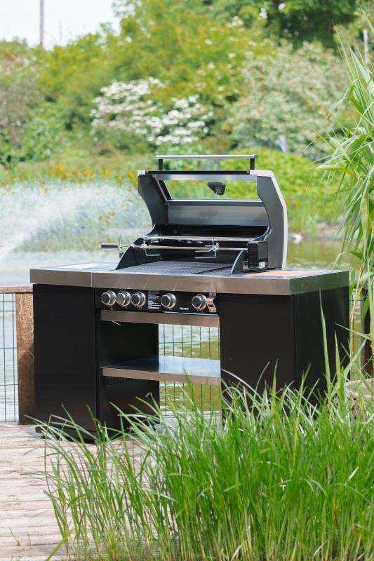 Grillstream Island 4 Burner Gas Barbecue With Side Burner